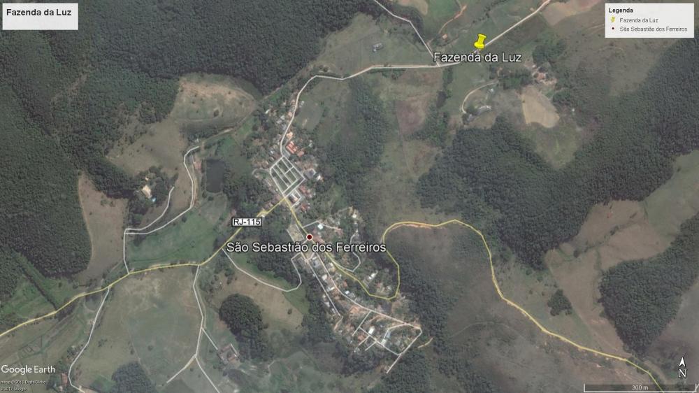 Fazenda da Luz - Localização
